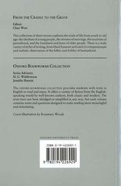 Obw Collections: From The Cradle To The Grave - 4ème de couverture - Format classique