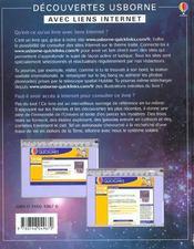 L'espace - 4ème de couverture - Format classique