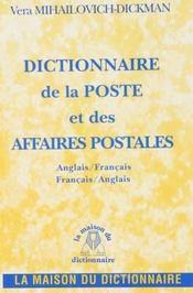 Dictionnaire de la poste - Intérieur - Format classique