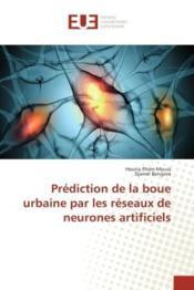 Prediction de la boue urbaine par les reseaux de neurones artificiels - Couverture - Format classique