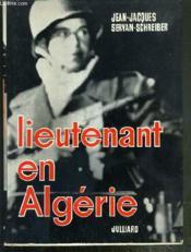 Lieutenant En Algerie - Envoi De L'Auteur - Couverture - Format classique