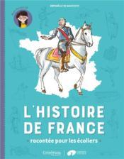 L'histoire de France racontée pour les écoliers ; mon livret CP - Couverture - Format classique
