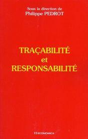 Tracabilite Et Responsabilite - Intérieur - Format classique