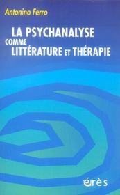 La psychanalyse comme littérature et thérapie - Intérieur - Format classique