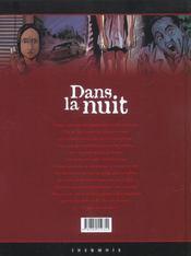 Dans la nuit t.1 ; legion - 4ème de couverture - Format classique