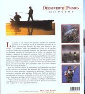 Decouverte Et Passion De La Peche - 4ème de couverture - Format classique