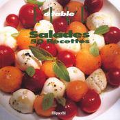 Elle A Table ; Salades ; 50 Recettes - Intérieur - Format classique