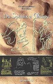 Du Sphinx A ?Dipe - Couverture - Format classique