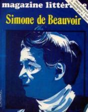 Simone de Beauvoir (magazine littérature n°145, février 1979) - Couverture - Format classique