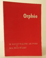 Orphee. - Couverture - Format classique