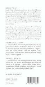 Sergio prego - 4ème de couverture - Format classique