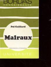 Andre Malraux - Couverture - Format classique