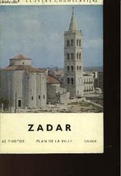 Zadar - Plan De La Ville - Couverture - Format classique