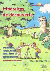 Itineraires de decouverte en 5e - Intérieur - Format classique