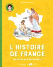 L'histoire de France racontée pour les écoliers ; mon livret CE1 - Couverture - Format classique