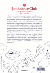 Jouissance club ; une cartographie du plaisir - 4ème de couverture - Format classique