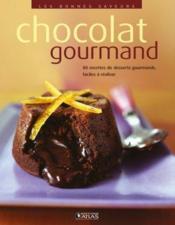 Chocolat gourmand - Couverture - Format classique