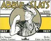 Abbie N'Slats 1 1937 - Couverture - Format classique