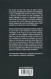 Pascal Gentil. il était une fois - 4ème de couverture - Format classique