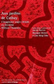 Aux jardins de cathay - Couverture - Format classique