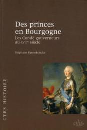 Des princes de Bourgogne ; les Condé gouverneurs au XVIII siècle - Couverture - Format classique
