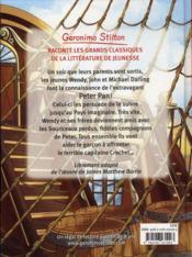 Géronimo Stilton présente T.4 ; Peter Pan - 4ème de couverture - Format classique