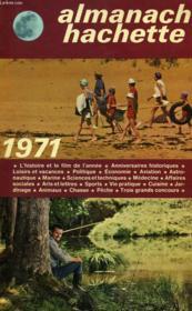Almanach Hachette 1971 - Couverture - Format classique