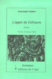 L'appel de Collioure - Couverture - Format classique