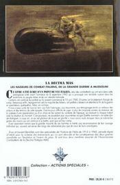 La decima mas - 4ème de couverture - Format classique