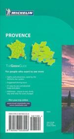 LE GUIDE VERT ; Provence - 4ème de couverture - Format classique
