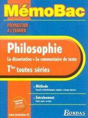 La dissertation, le commentaire de texte - Intérieur - Format classique