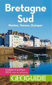 GEOguide ; Bretagne sud - Couverture - Format classique