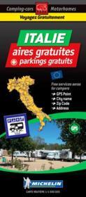 Italie, aires gratuites, parkings gratuits - Couverture - Format classique