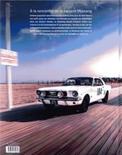Mustang ; un art de vivre - 4ème de couverture - Format classique