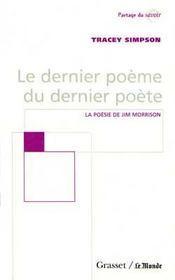 Le dernier poeme du dernier poete - Intérieur - Format classique
