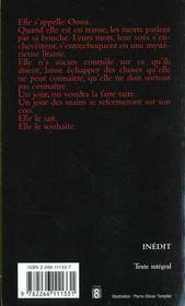 Coeur De Brume - 4ème de couverture - Format classique