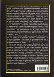 Franchoupia - 4ème de couverture - Format classique