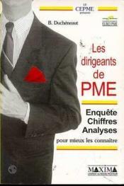 Dirigeants de pme - Couverture - Format classique