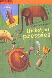 Histoires pressees - Intérieur - Format classique