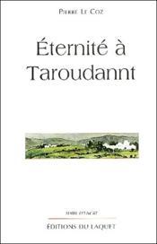 Éternité à Taroudannt - Couverture - Format classique