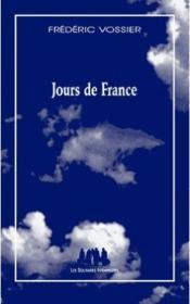 Jours de France - Couverture - Format classique