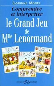 Le grand jeu de Mlle Lenormand - Intérieur - Format classique