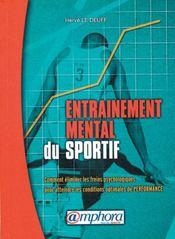 Entraînement mental du sportif - Intérieur - Format classique
