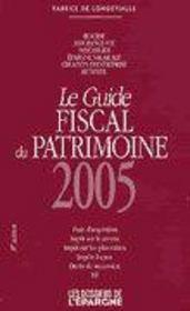 Guide fiscal du patrimoine 2005 - Intérieur - Format classique