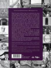 Des images et des mots ; les documents figurés dans les archives - 4ème de couverture - Format classique