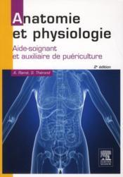 Anatomie et physiologie AS-AP (2e édition) - Couverture - Format classique