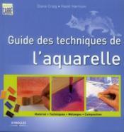 Guide des techniques de l'aquarelle - Couverture - Format classique