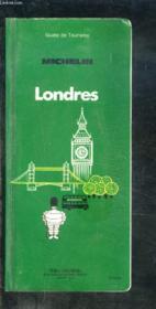 Guide Du Tourisme : Londres - Couverture - Format classique