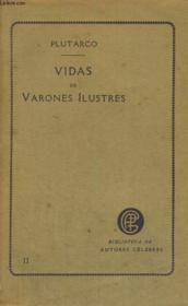 Vidas De Varones Ilustres, Tomo Segundo - Couverture - Format classique