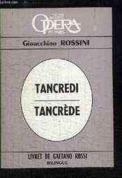 Tancrède / Tancredi. - Couverture - Format classique